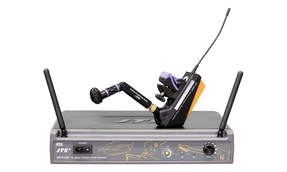 micro sans fil instrument a vent