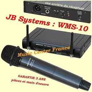 micro sans fil jb system