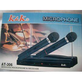 micro sans fil k&k at-306