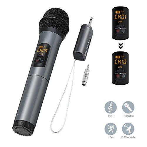micro sans fil karaoke boulanger