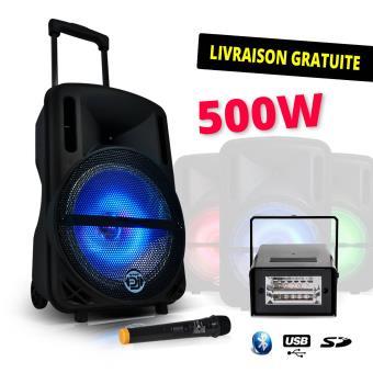 micro sans fil karaoke fnac