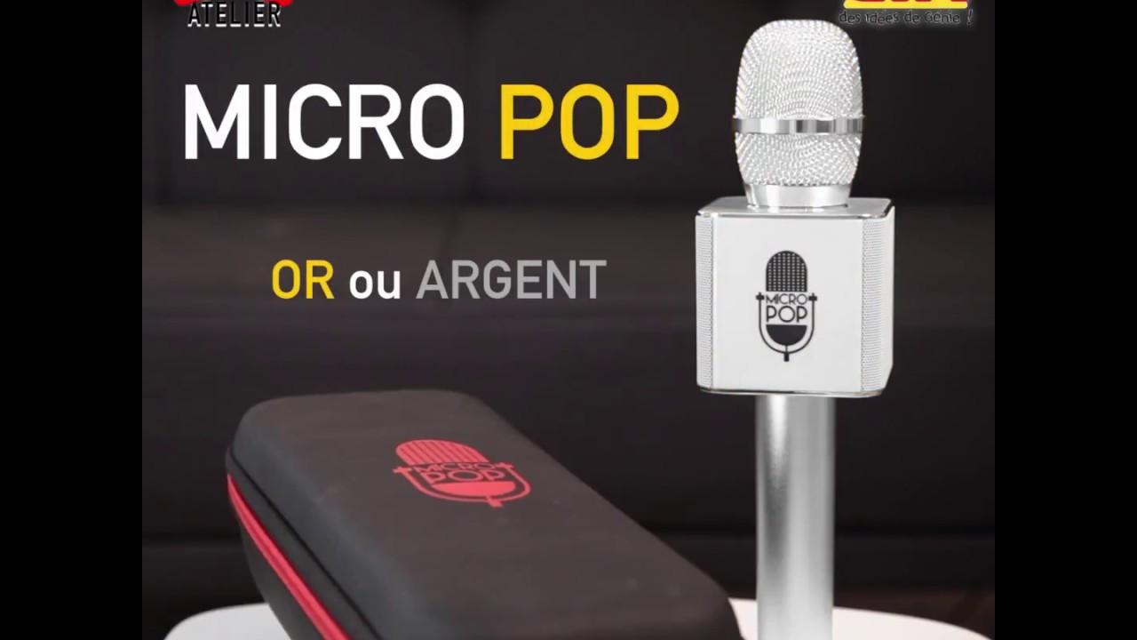 micro sans fil karaoke gifi