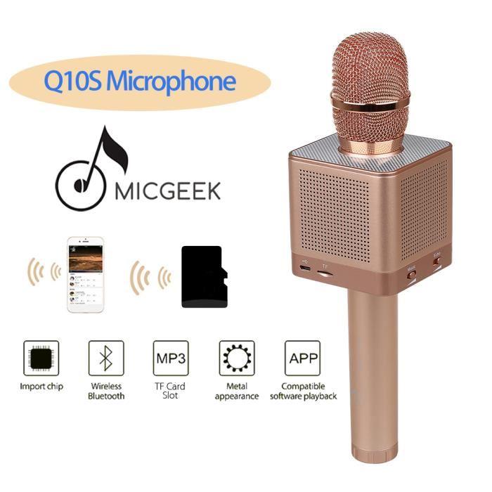 micro sans fil karaoke