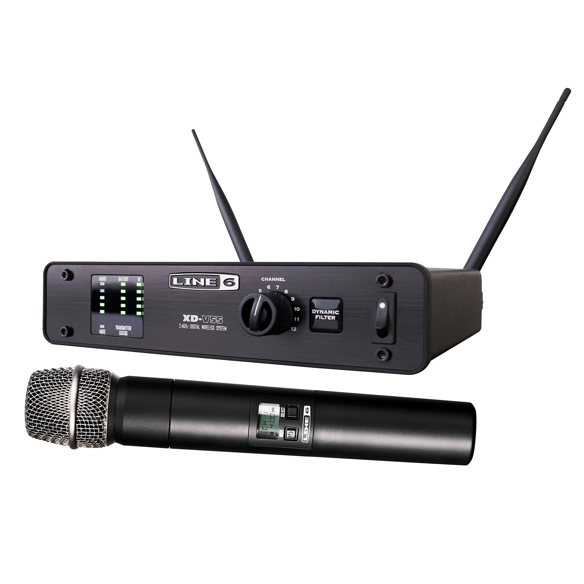 micro sans fil line 6