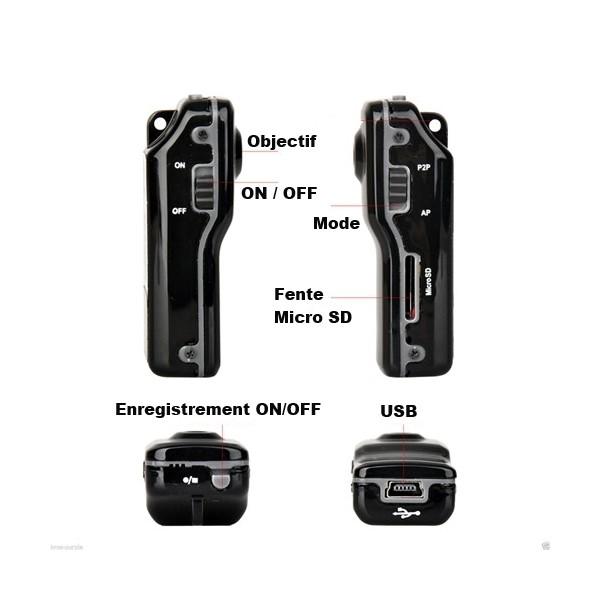 micro sans fil mini