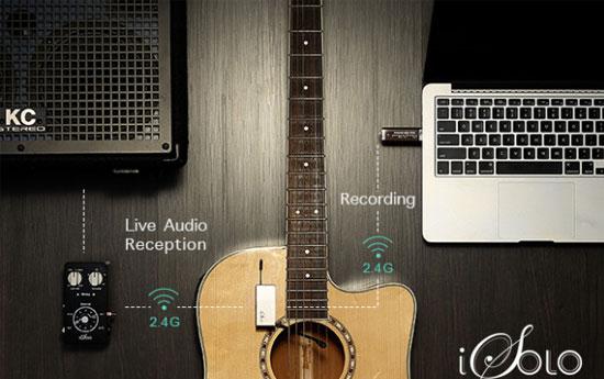 micro sans fil pour guitare