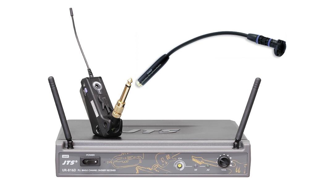 micro sans fil pour instrument a vent