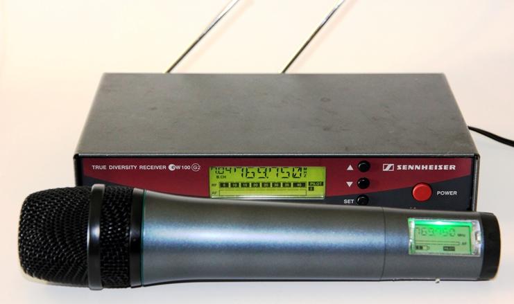 micro sans fil sennheiser ew 100 g2