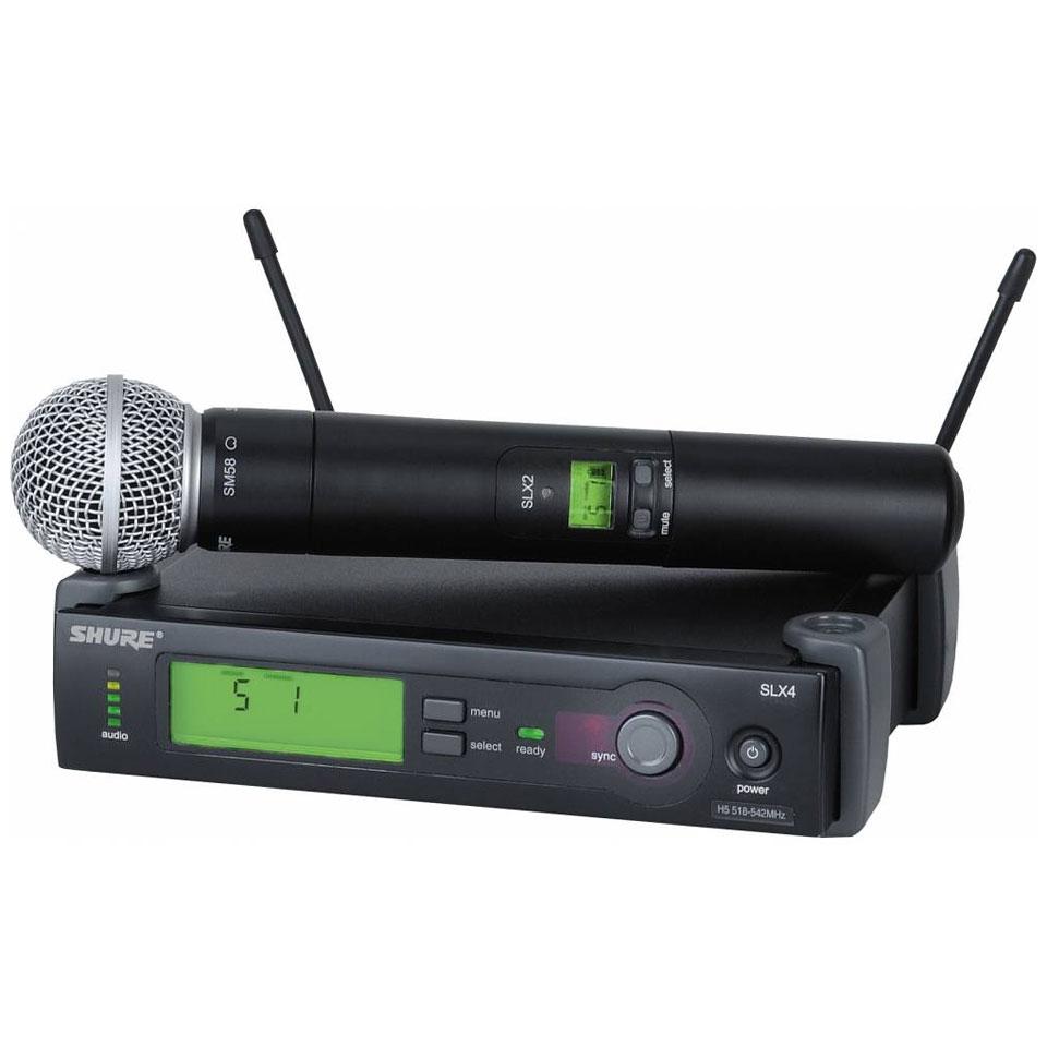 micro sans fil shure pas cher