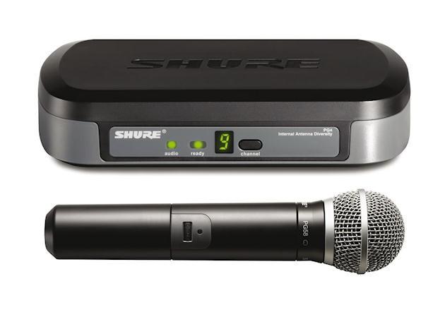 micro sans fil shure pg 58