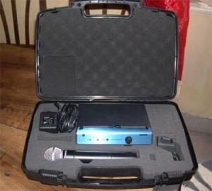 micro sans fil shure pg58