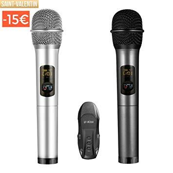 micro sans fil usb karaoke