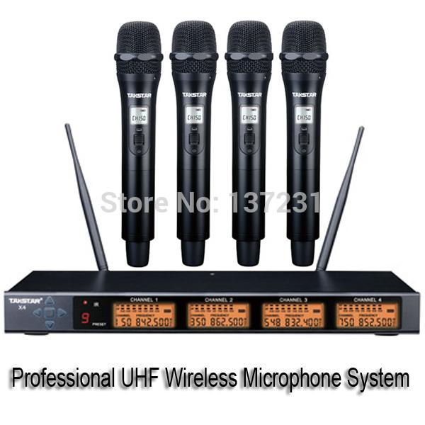 micro sans fil x4